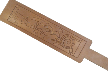 carved wristband
